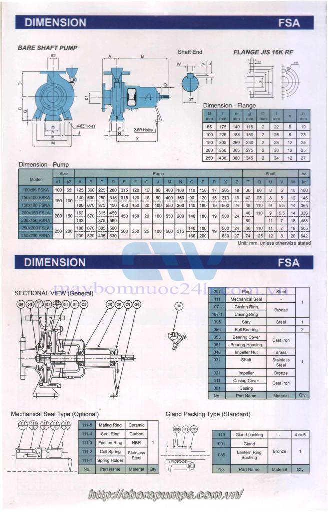 thong-so-ki-thuat-may-bom-cong-nghiep-ebara-150-x-125-fska